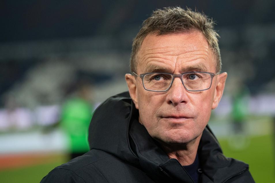 Ralf Rangnick verlässt RB Leipzig.
