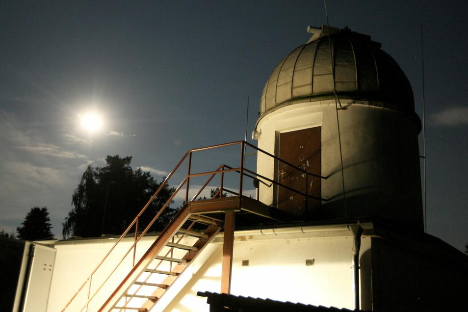 So schön ist die Sternwarte in Graupa. Aber ein stilles Örtchen für die Gäste fehlt.