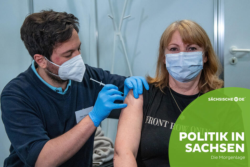Gesundheitsministerin Petra Köpping hat sich am Montag in Leipzig mit Astrazeneca impfen lassen. Sie wolle damit auch anderen Menschen Mut machen, sagte sie.