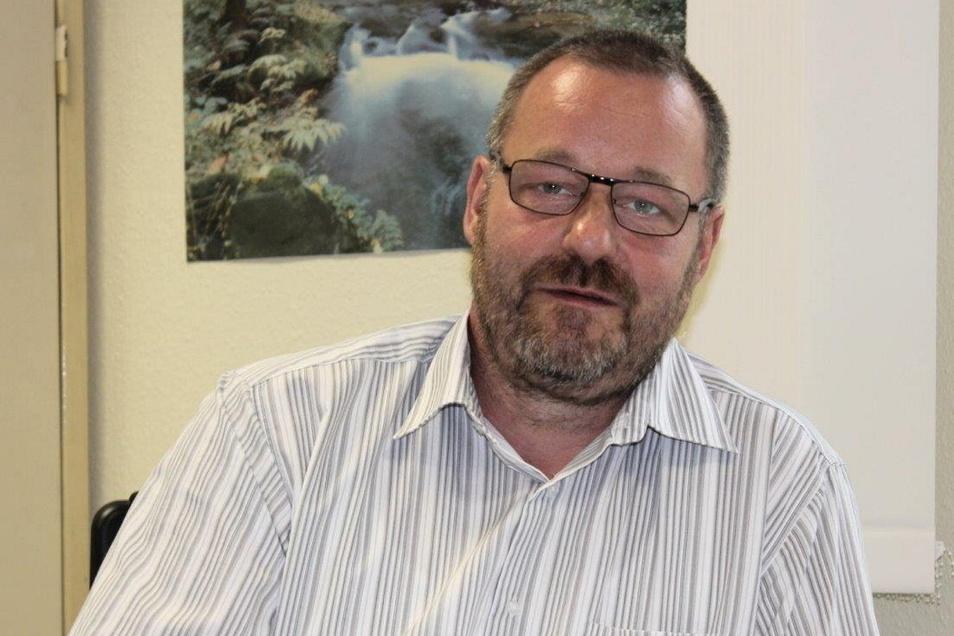 Harry Bönisch, Bauingenieur, seit 1991 als Gutachter tätig, leitet seit 2015 den Gutachterausschuss im Landkreis Meißen.