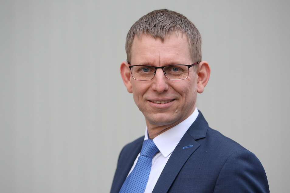 Glashüttes Bürgermeister Markus Dreßler: Er wechselt im Sommer auf den Posten des Beigeordneten im Pirnaer Rathaus.