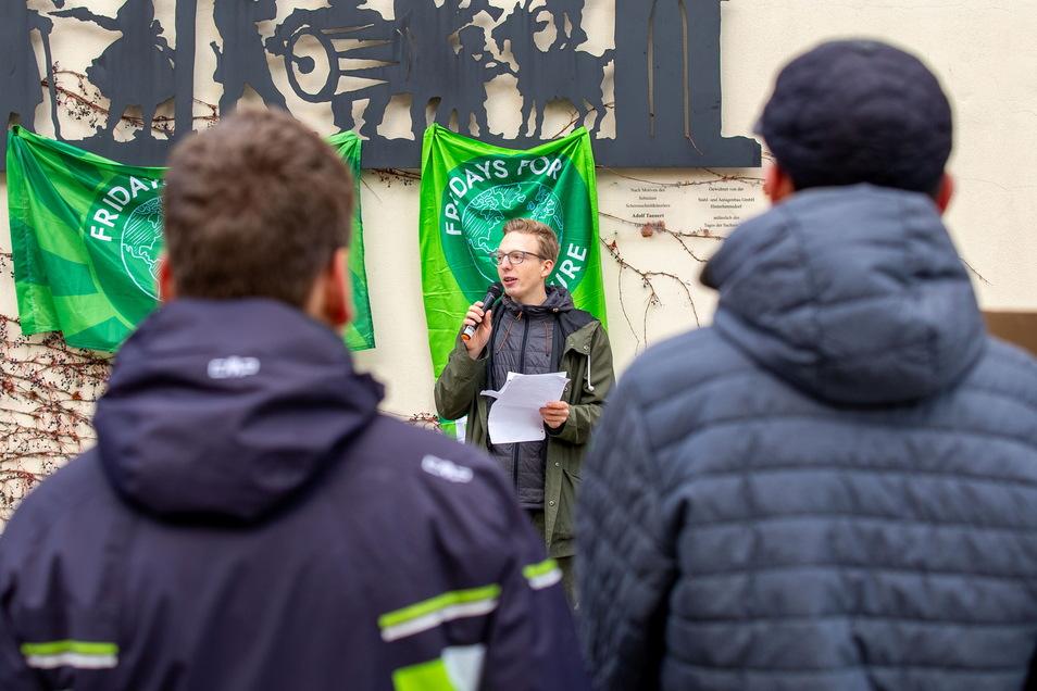 Demo von Fridays for Future, hier 2019 in Sebnitz: Wir müssen jetzt handeln, um die schlimmsten Folgen zu verhindern.