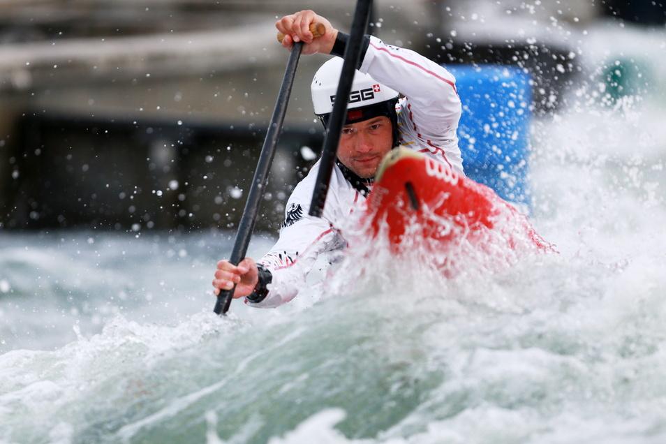 Knapp gescheitert ist der Löthainer Franz Anton an einer Olympia-Teilnahme in Tokio.