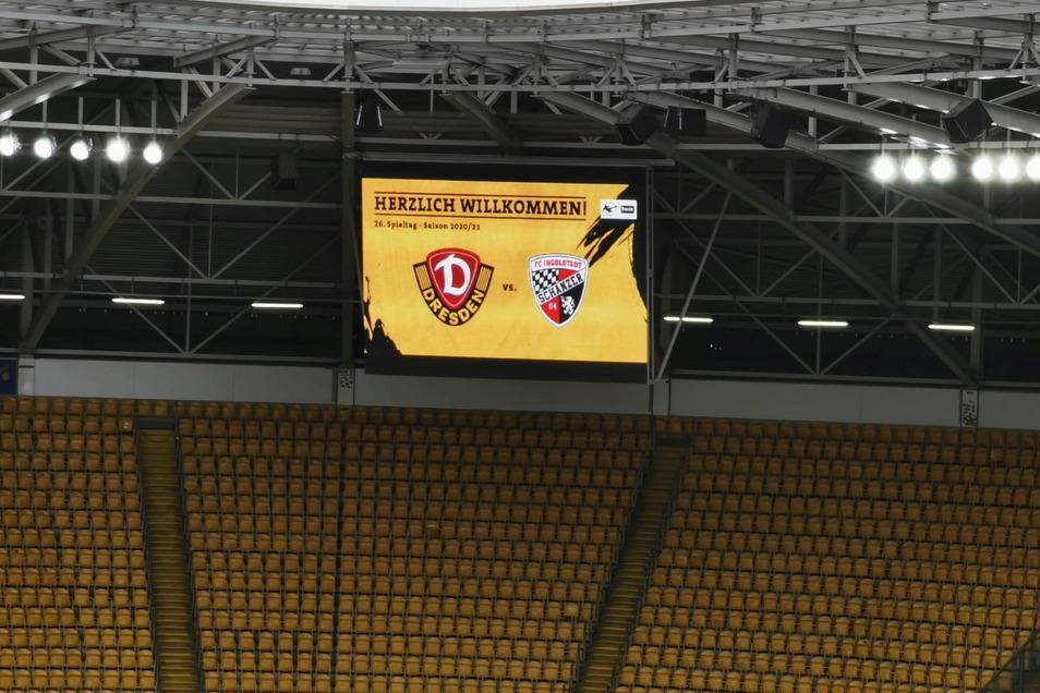 Dynamo Dresden gegen FC Ingolstadt, Erster gegen Zweiter. Es ist das Spitzenspiel in der 3. Liga.