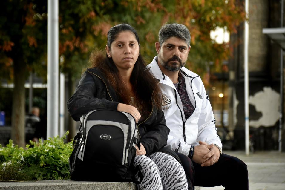 Azbije Kamberovik und Sami Bekir sind Roma in Dresden. Sie sollten 2016 nach Mezedonien abgeschoben werden, inzwischen sind sie geduldet.