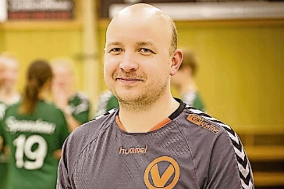 Marcel Wiesner (39) ist seit 2015 Trainer beim VFV Spandau. Vorher coachte er den SV Brandenburg- West.