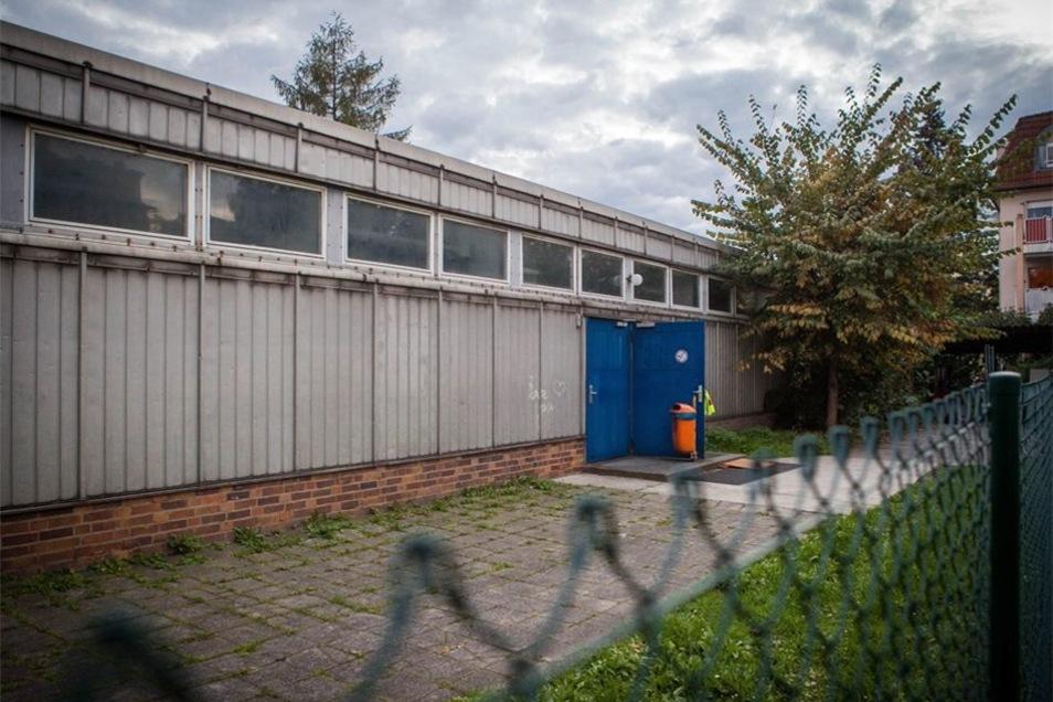 In dieser Turnhalle an der Thäterstraße sollen Asylbewerber untergebracht werden.