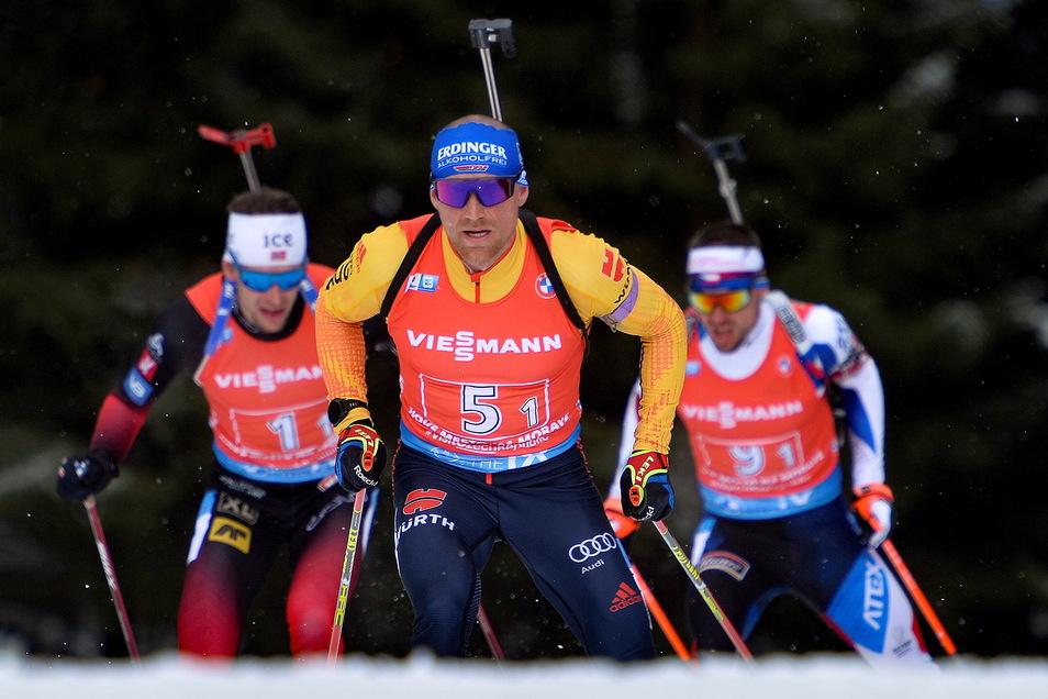 Überzeugt diesmal wieder als Startläufer: Erik Lesser.