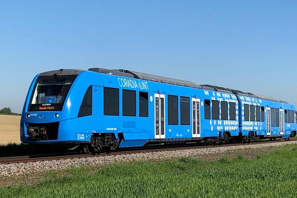 Coradia ist der erste weltweit wasserstoffbetriebene Zug von Alstom.