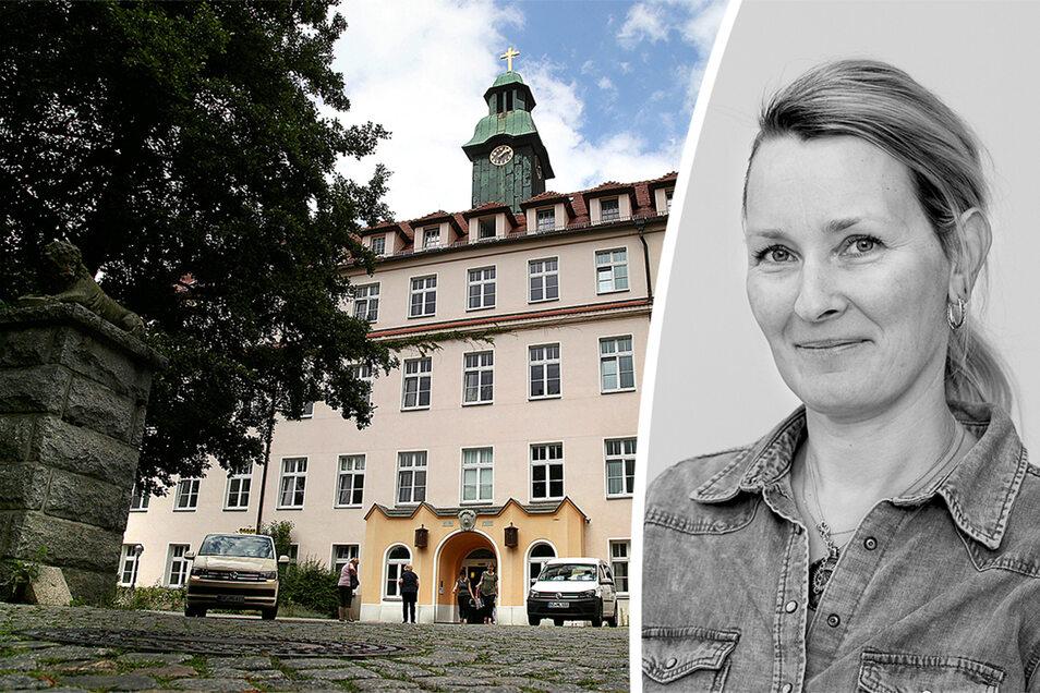 In Räumen des St. Caroluskrankenhauses war seit März die Corona-Ambulanz der KVS eingerichtet. Dass sie nun plötzlich schließt kommentiert SZ-Redakteurin Daniela Pfeiffer.