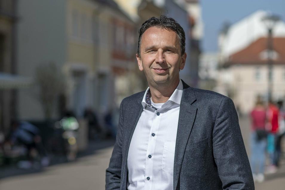 Riesas Oberbürgermeister Marco Müller (CDU).