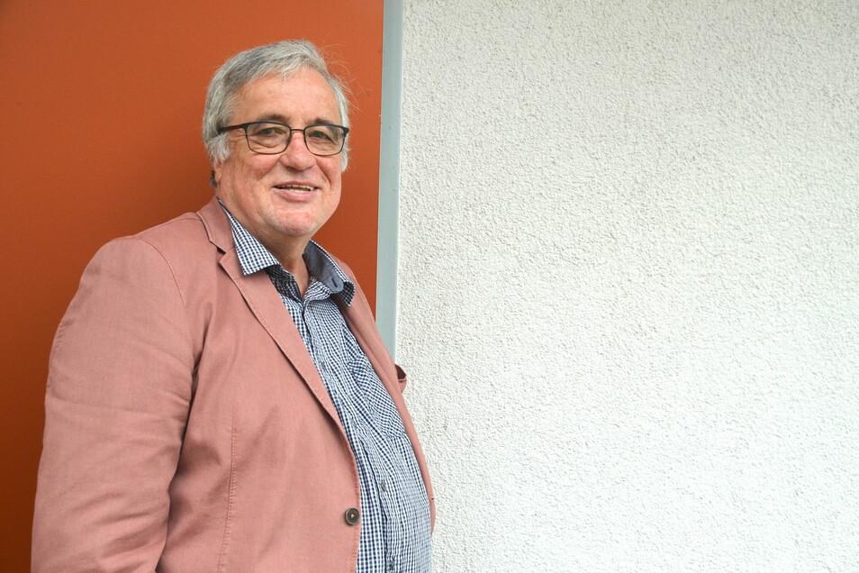 """Jürgen Dettling lebt seit einem Jahr in Reichenbach und leitet das Gesamtprojekt """"Mischen Possible""""."""