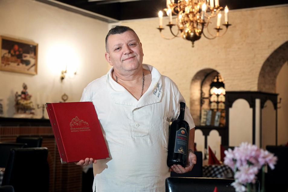Gelo Redzepi hat mit zwei seiner vier Brüder den Sachsenhof gekauft und wird hier italienisch kochen.