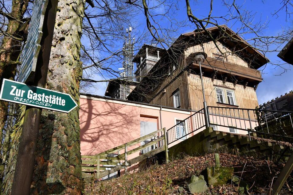 Die Bergwirtschaft auf dem Großen Winterberg ist geschlossen. Eine dauerhafte Lösung steht noch aus.