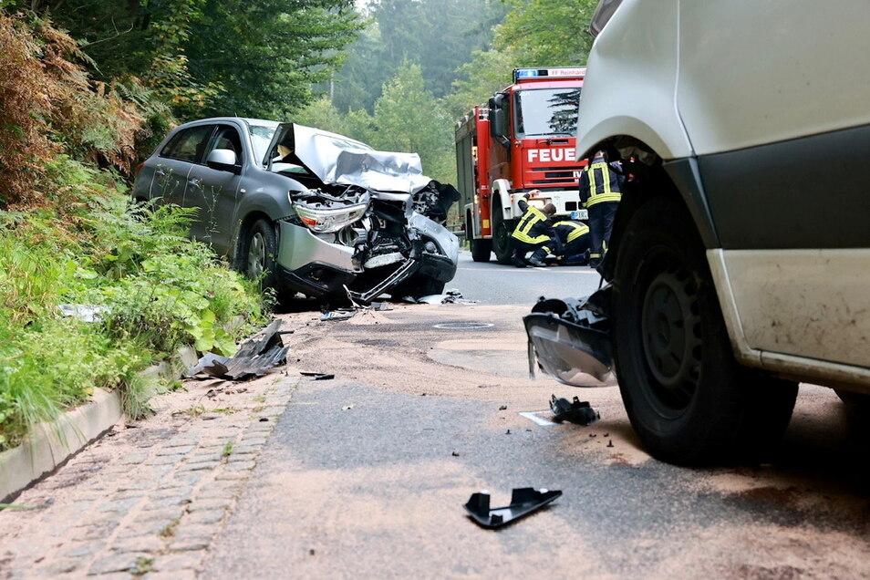 Bei der Kollision entstand ein Schaden von 60.000 Euro.