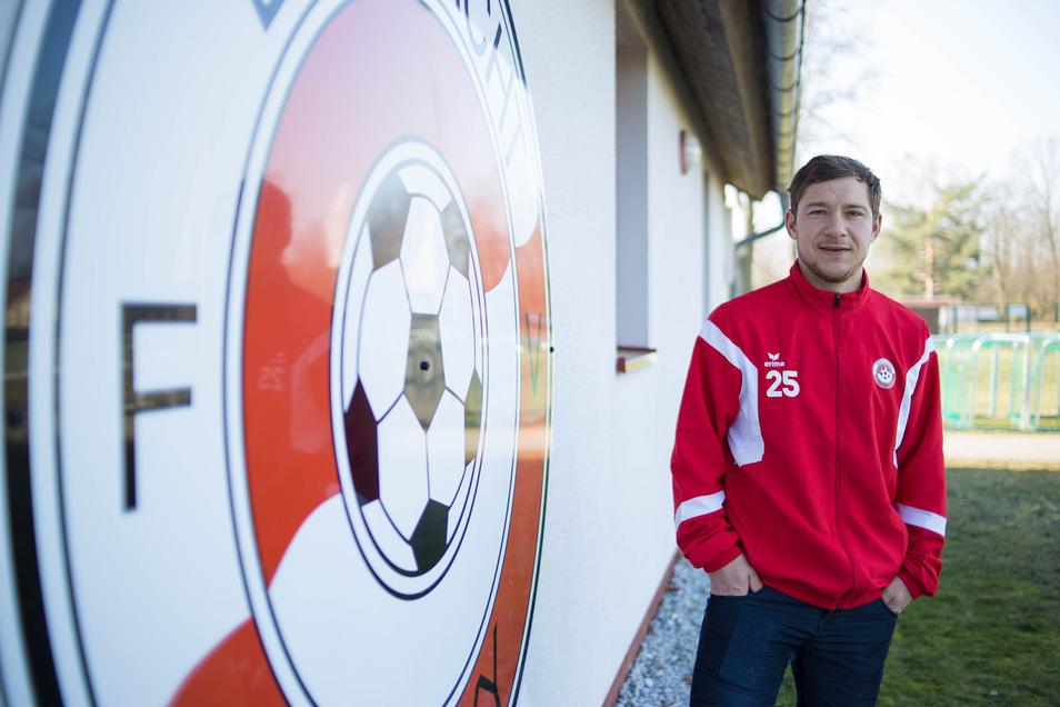 Ex-Profi Robert Koch trainiert bei Eintracht Niesky die A-Junioren. Corona-bedingt hat er im Moment allerdings viel Zeit.