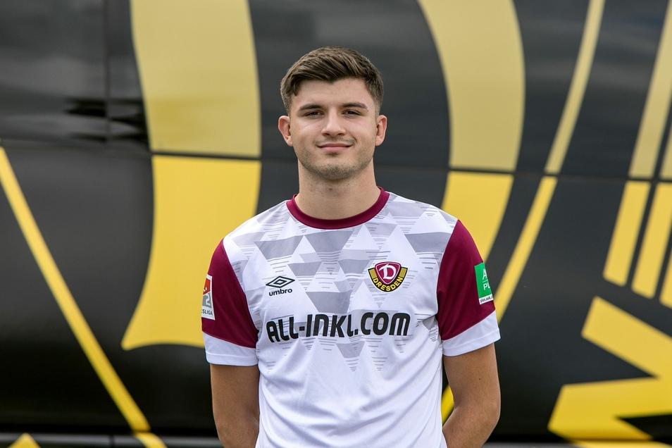 Antonis Aidonis wird von Dynamo für ein Jahr vom VfB Stuttgart ausgeliehen.