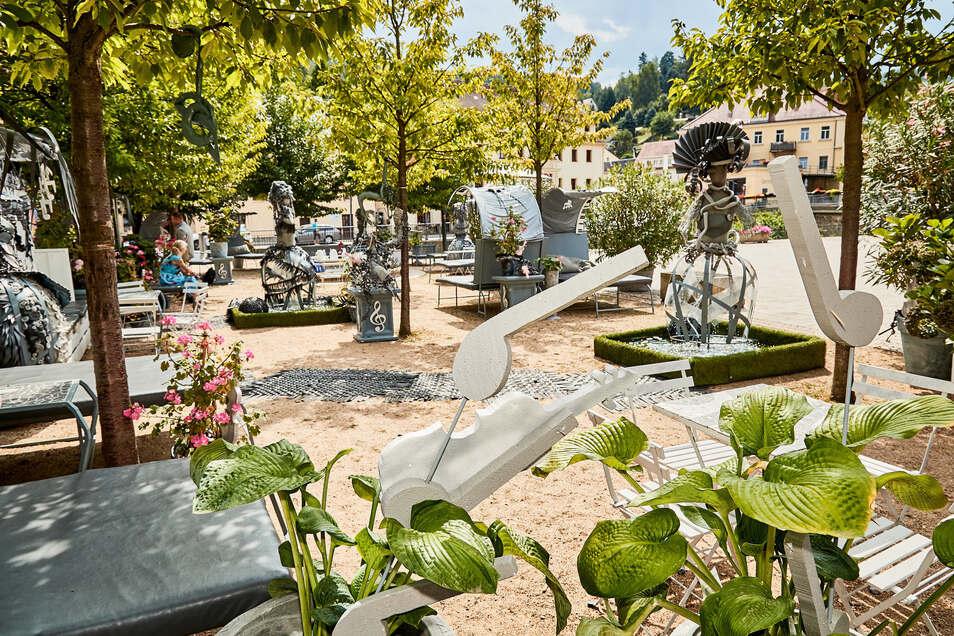 Der Klassikgarten in Königstein soll diesen Sommer wieder aufgebaut werden.