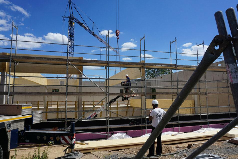 Insgesamt sollen 15,5 Millionen Euro in die Sanierung der Questenbergschule fließen.