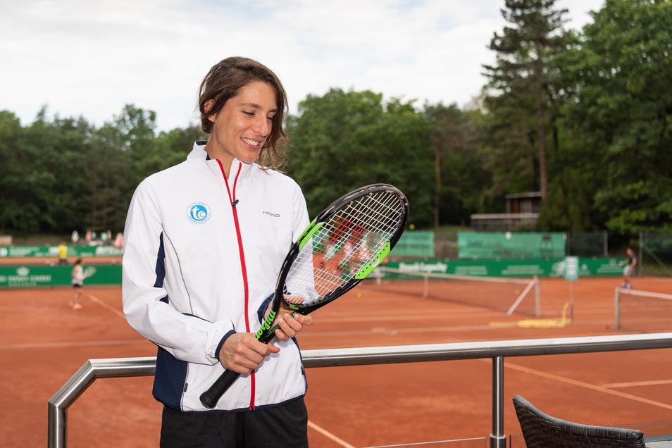 Andrea Petkovic kann nicht nur mit dem Racket umgehen. Sie spielt nebenbei Gitarre und Schlagzeug.