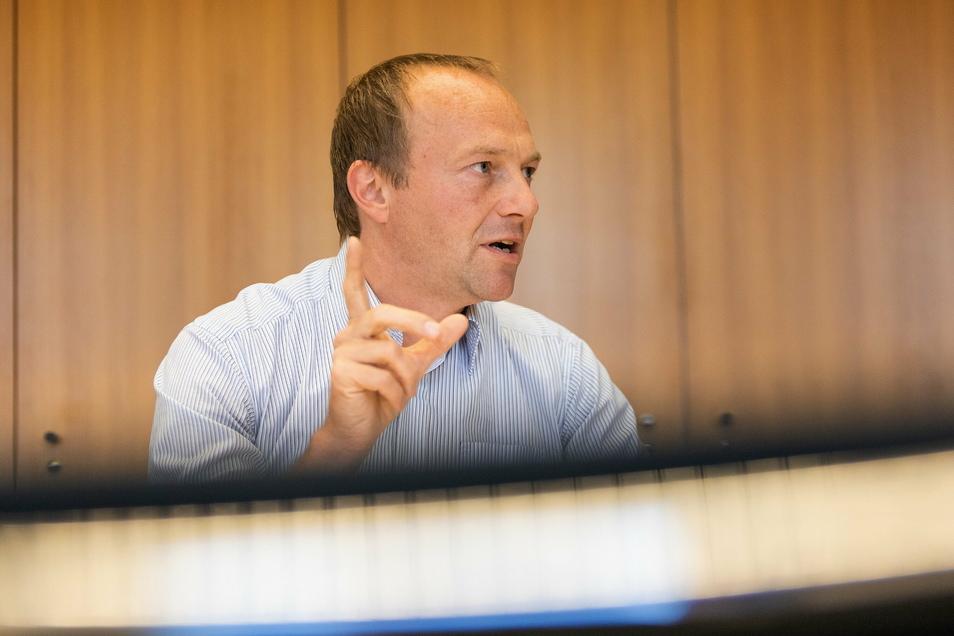 Wieder fit: Sachsens Umweltminister Wolfram Günther