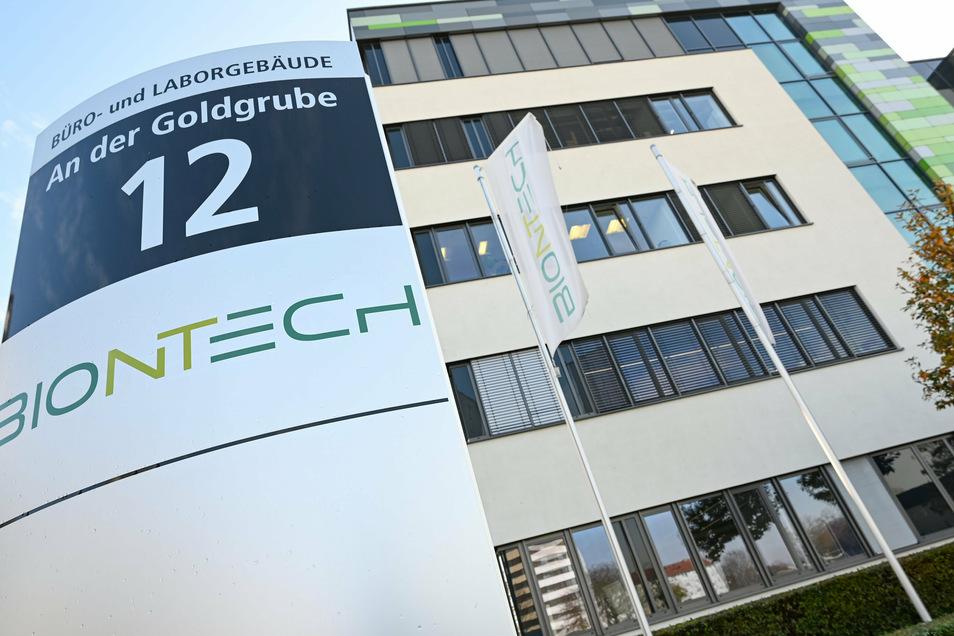 Das deutsche Biotechnologieunternehmen Biontech hat seinen Hauptsitz in Mainz.