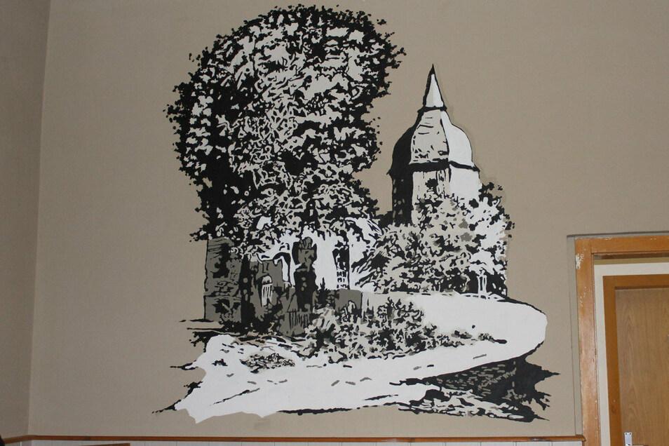 Eine zweite Ansicht zeigt die Blochwitzer Kirche. Foto: A. Kirschner