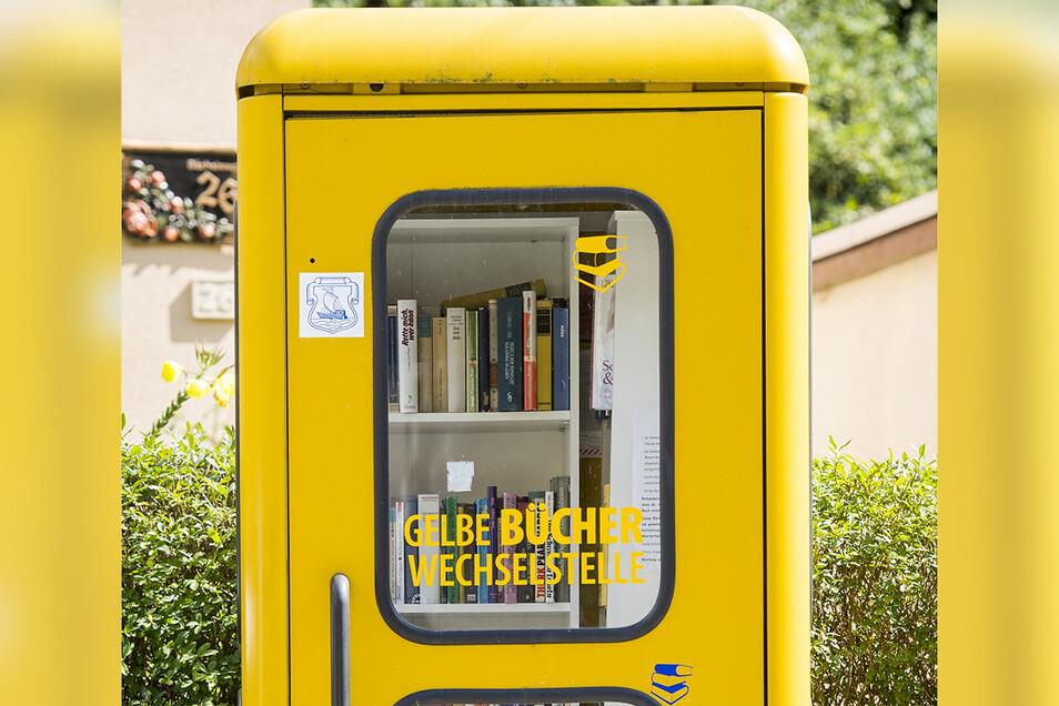 Eine Büchertelefonzelle für Schwosdorf steht auch auf der Wunschliste für das Kamenzer Bürgerbudget.