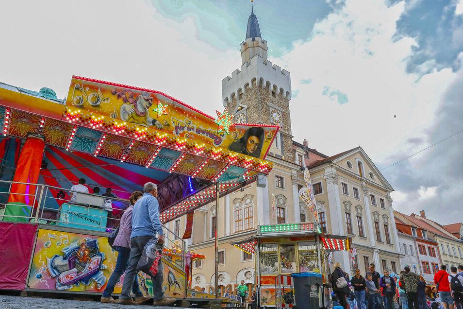 Wird es so wie im vorigen September auch in diesem Jahr wieder auf dem Löbauer Altmarkt aussehen?