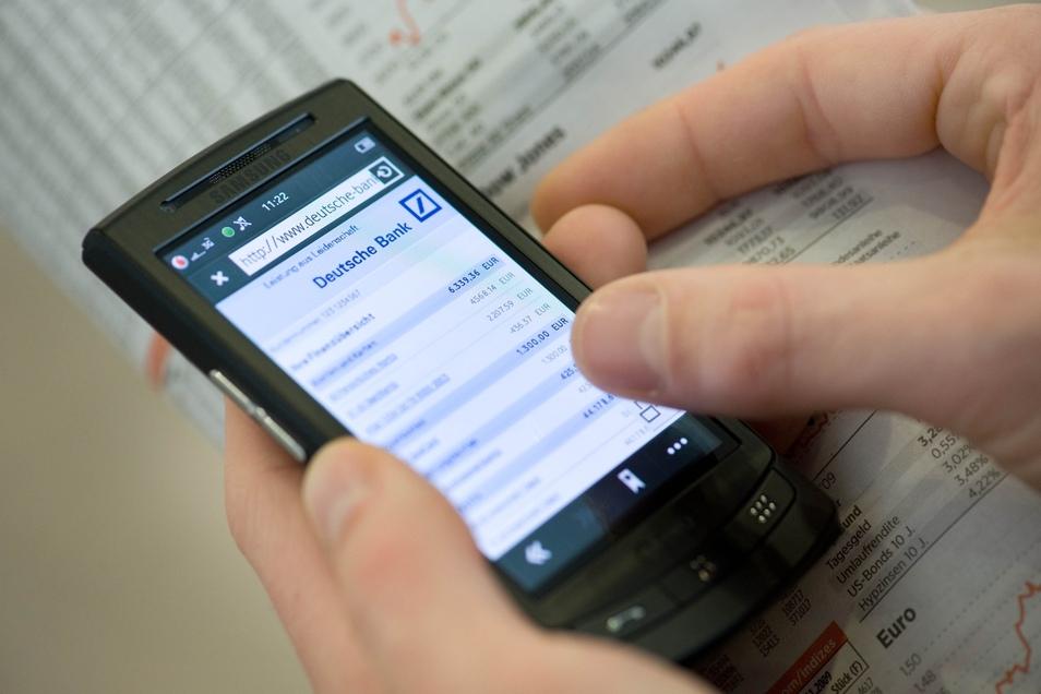 Die Deutsche Bank kann von Döbeln aus nur noch online angesteuert werden.