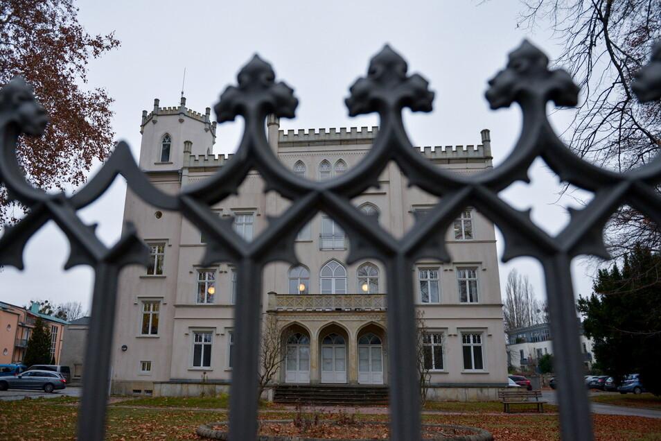 Die Villa des Dresdner Gesundheitsamtes wird umfassend saniert.