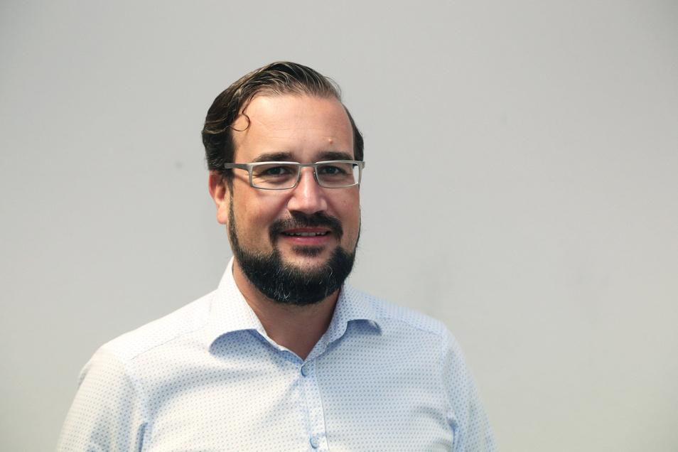 Sebastian Lohse ist Anwalt in Riesa und Vorstandssprecher beim SC Riesa.