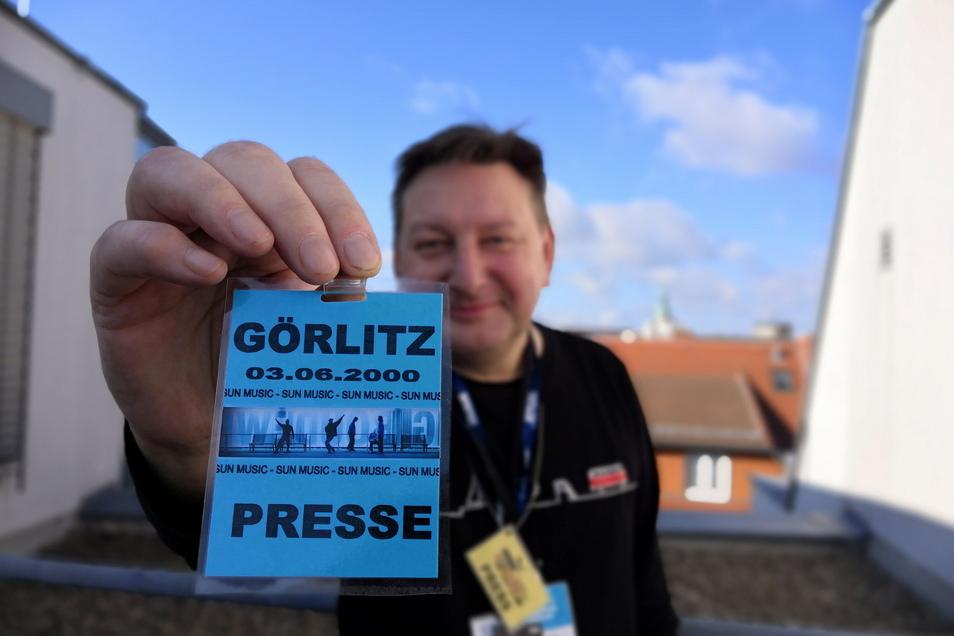 Zugelassen: SZ-Redakteur Matthias Klaus erinnert sich.
