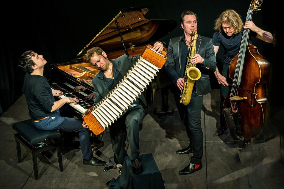 """Am 26. September ist das Ensemble Quadro nuevo mit seinem Programm """"Tango"""" in Bautzen zu Gast."""