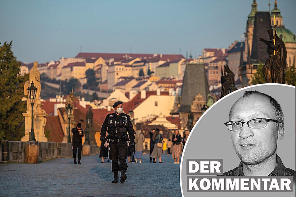 Tschechien ist offiziell Corona-Risikogebiet. Unser Korrespondent Steffen Neumann kommentiert das.