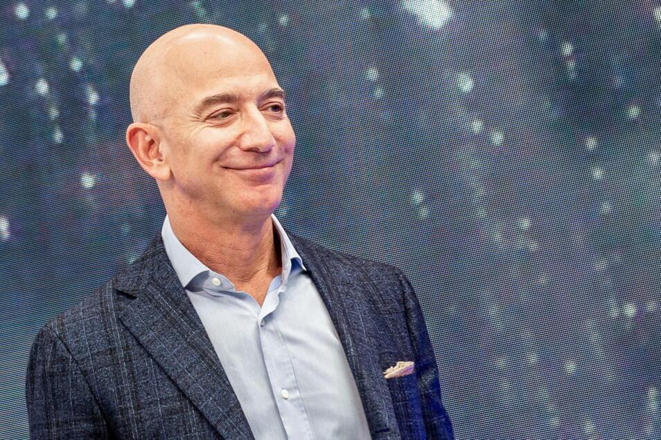 Jeff Bezos, Gründer von Amazon, will ins All.
