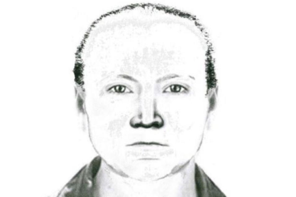 Mit diesem Phantombild sucht die Polizei nach einem Täter.