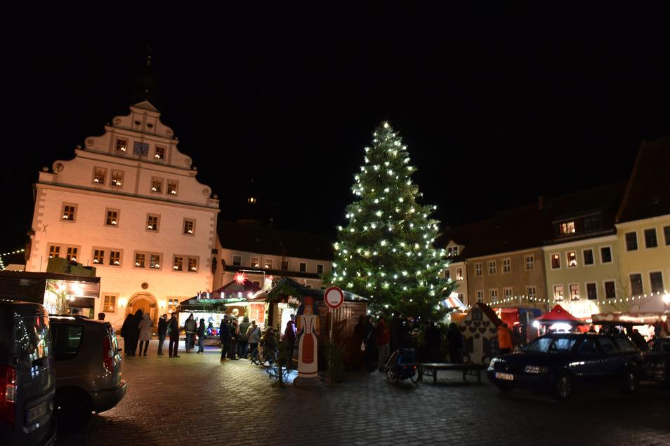 Weihnachtsmarkt in Dipps.