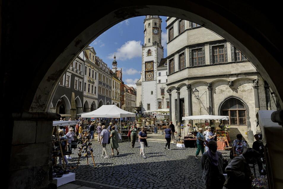 Weniger Menschen, mehr Platz, kein Kulturprogramm – dennoch war der Schlesische Tippelmarkt ein wahrer Höhepunkt im Görlitzer Kulturleben 2020.
