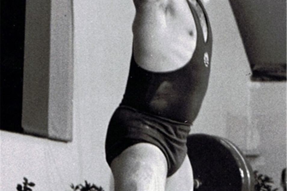 René Wyßuwa war einer der besten Gewichtheber der DDR.