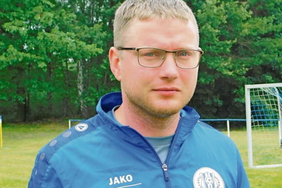 Nico Kowal wurde im Frühjahr 2021 zum Vereinsvorsitzenden in Kromlau gewählt.