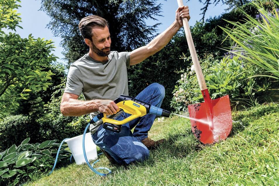 Wer bei der Gartenarbeit Freude haben will, braucht die passenden Werkzeuge.