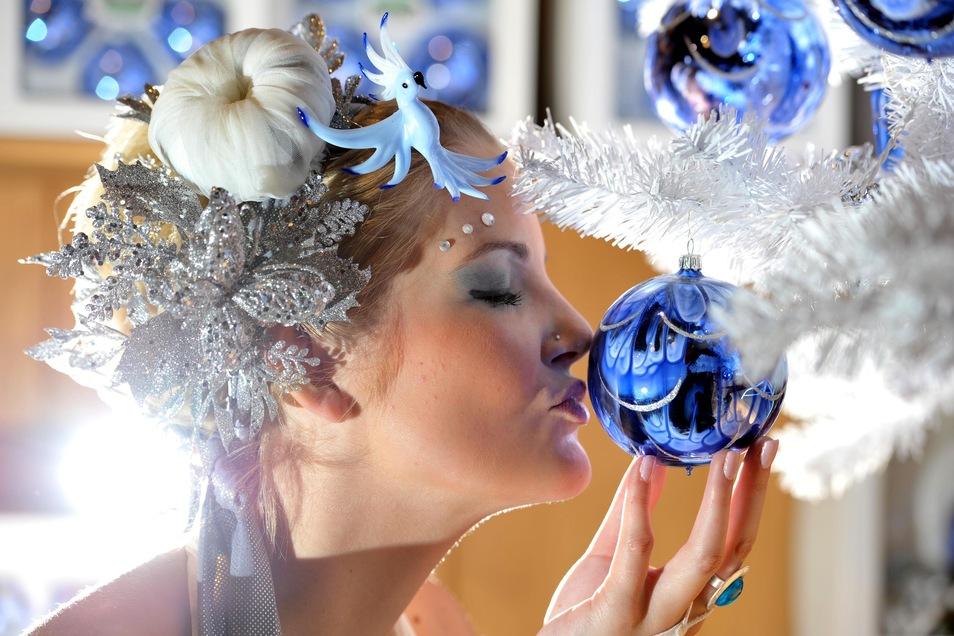 Die berühmten Glaskugeln strahlen zauberhaftes aus.
