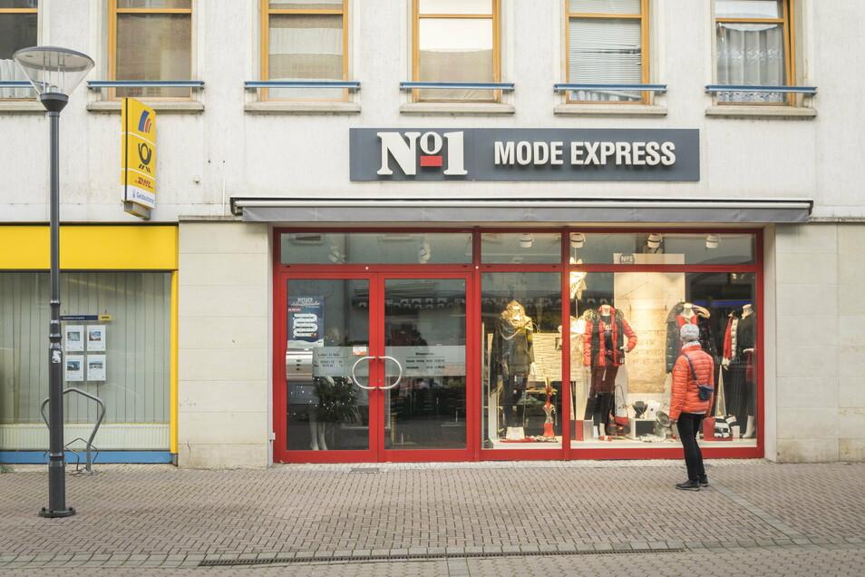 Der Mode Express No. 1 ist derzeit noch in der Hauptstraße 40.