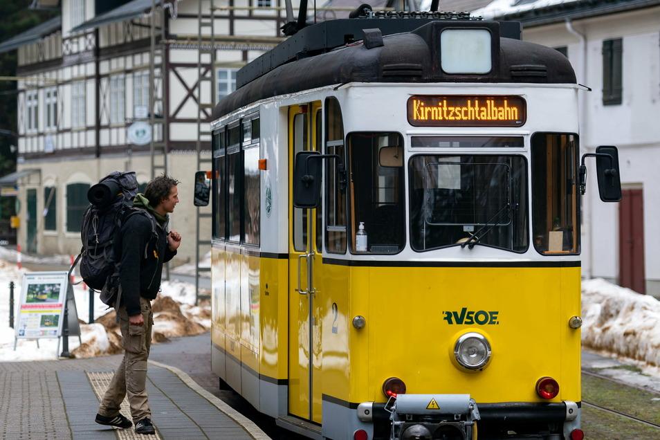 Historische Straßenbahn im Kirnitzschtal: Wird die Bahn zum leistungsfähigen Verkehrsmittel?
