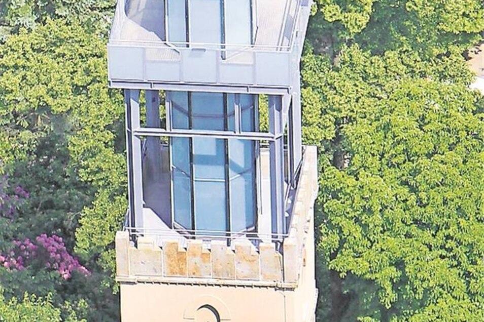 Kamenz: Lessingturm auf dem Hutberg