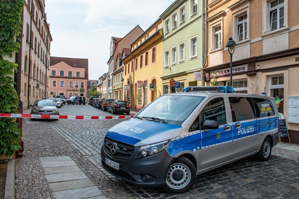 Die Polizei hat einen Tatverdächtigen im Zusammenhang mit dem Juwelierraub am 14. August in Döbeln festgenommen.