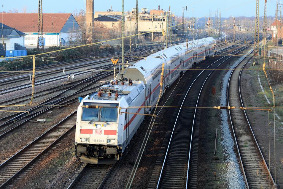 Was in Köthen Alltag ist, wird in Chemnitz noch Jahre dauern: Anbindung an den Fernverkehr.
