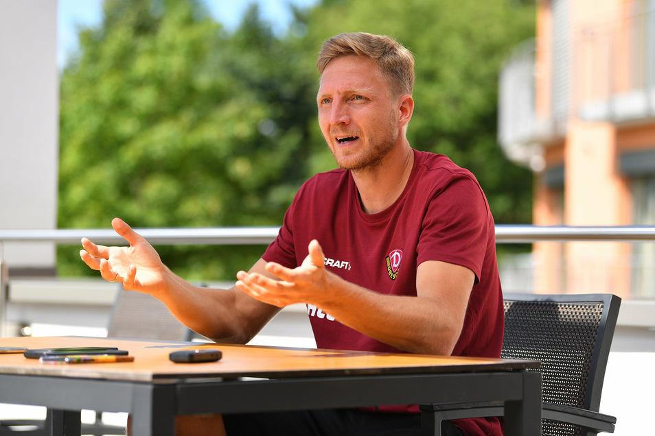 Marco Hartmann kann nicht nur tiefgründig über Fußball sprechen.