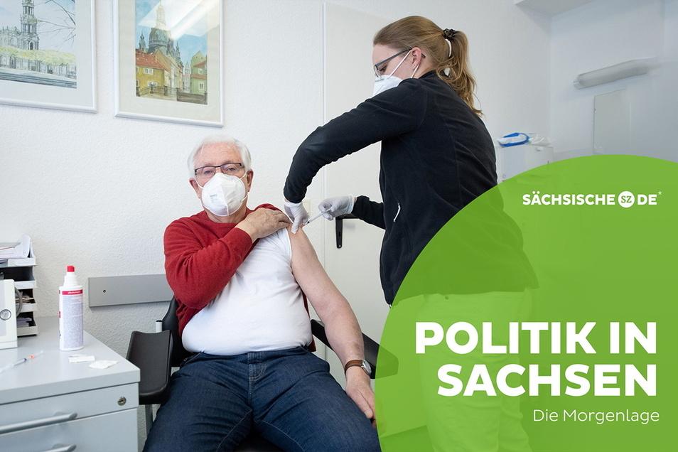Auch in Sachsen beginnen immer mehr Hausärzte mit den Corona-Impfungen.